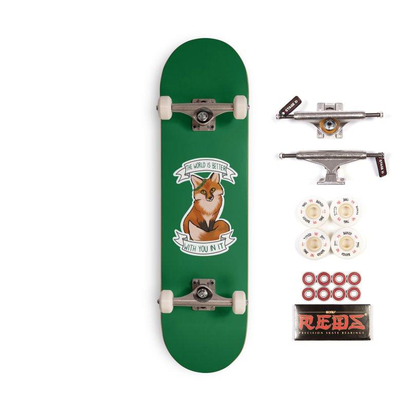 Fox Accessories Complete - Pro Skateboard by AnimeGravy