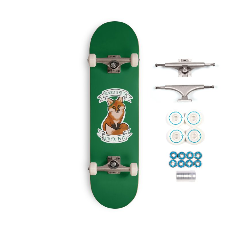 Fox Accessories Complete - Basic Skateboard by AnimeGravy