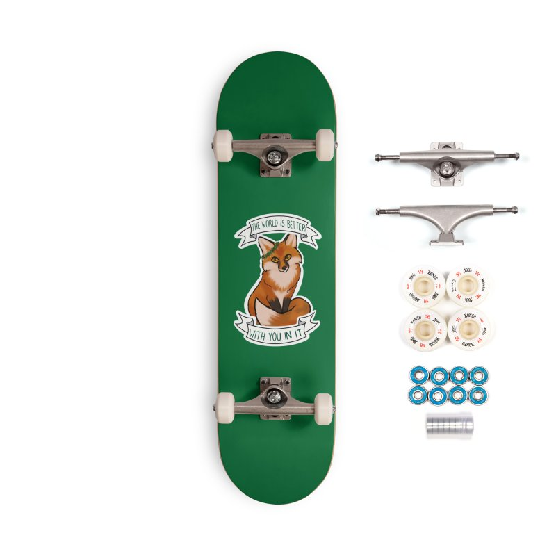 Fox Accessories Complete - Premium Skateboard by AnimeGravy