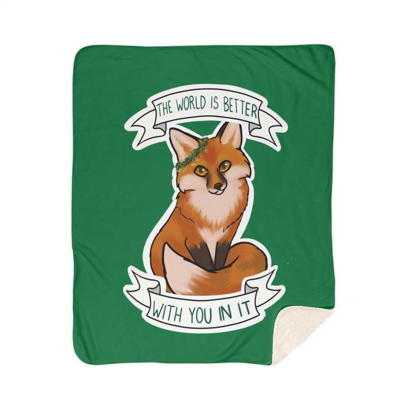 Fox Home Blanket by AnimeGravy