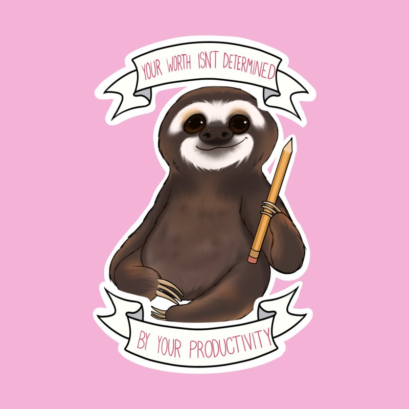 Sloth Accessories Sticker by AnimeGravy