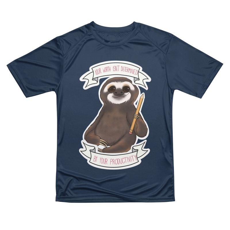 Sloth Women's Performance Unisex T-Shirt by AnimeGravy