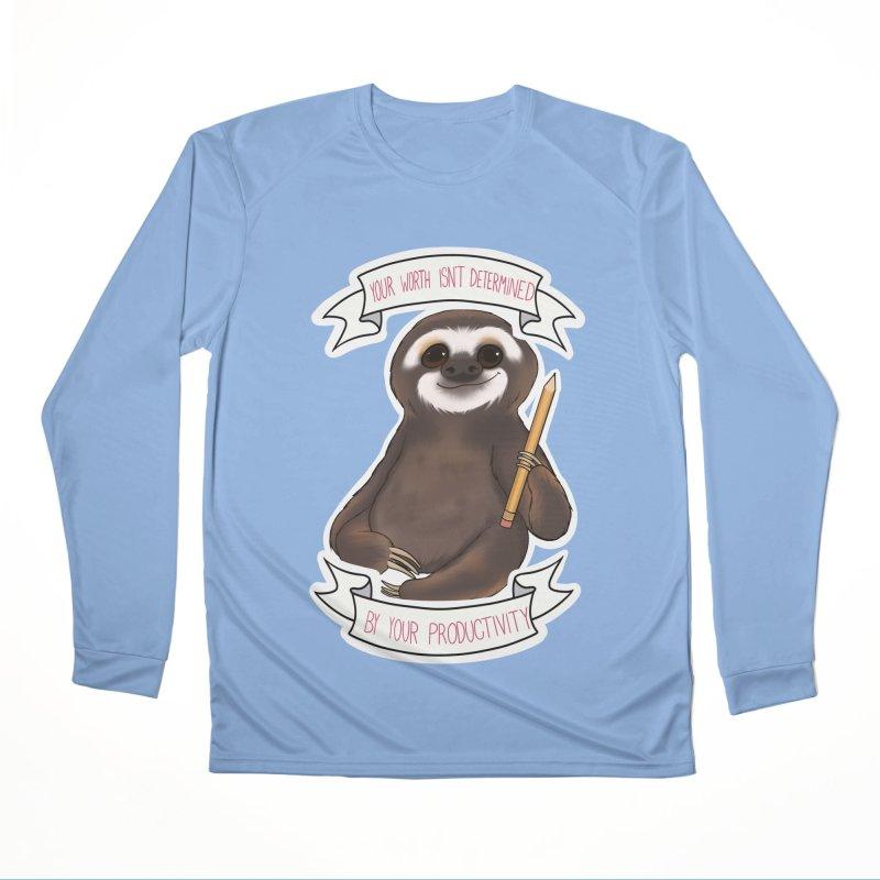 Sloth Men's Longsleeve T-Shirt by AnimeGravy