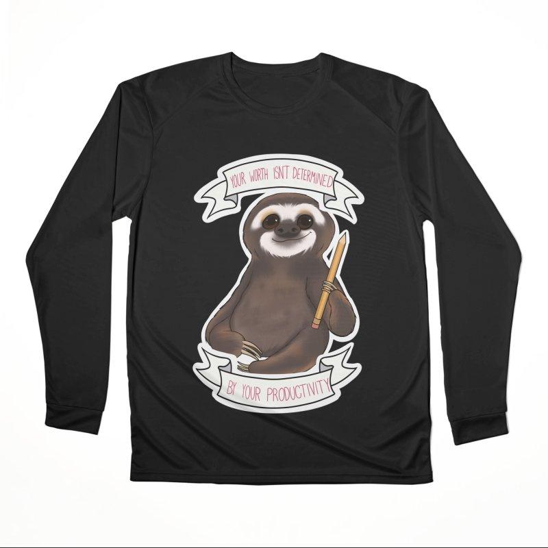 Sloth Women's Performance Unisex Longsleeve T-Shirt by AnimeGravy