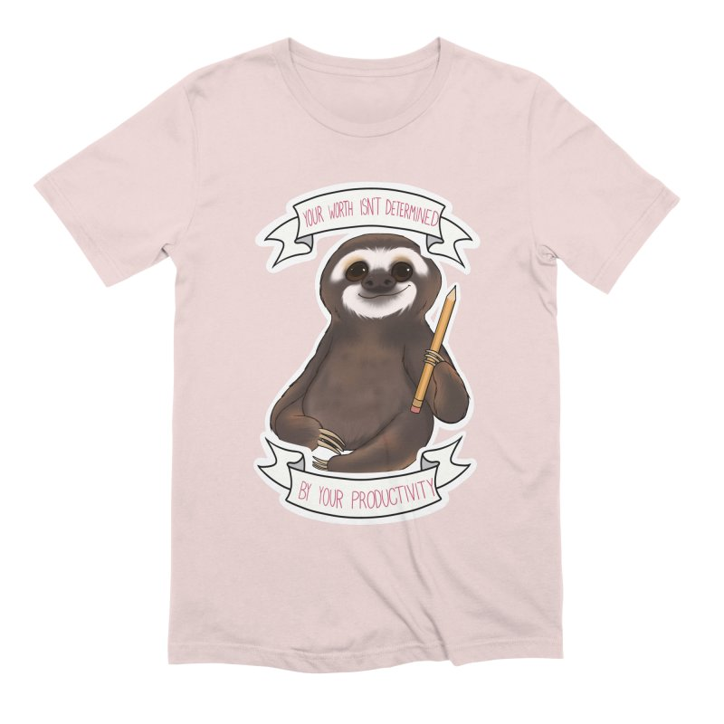 Sloth Men's Extra Soft T-Shirt by AnimeGravy