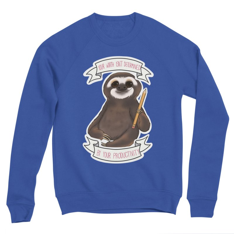 Sloth Men's Sponge Fleece Sweatshirt by AnimeGravy