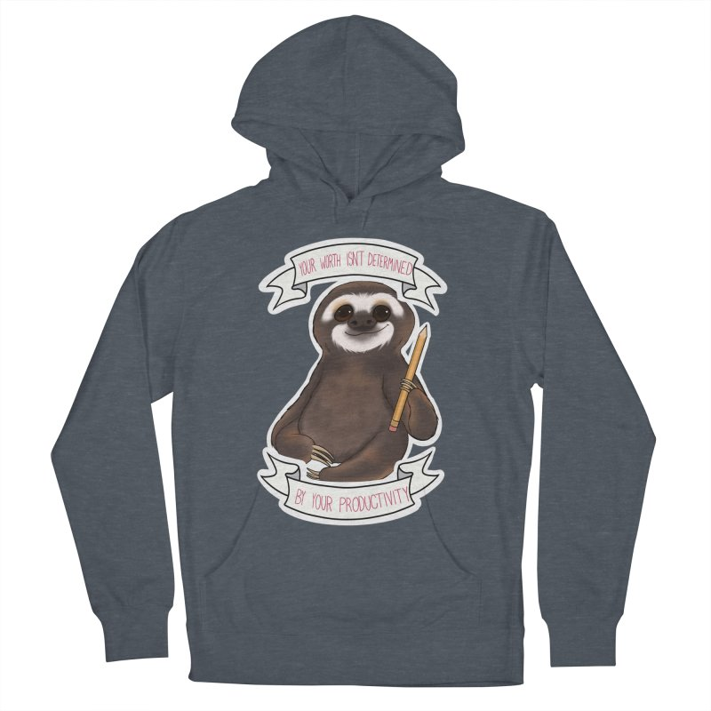 Sloth Women's French Terry Pullover Hoody by AnimeGravy