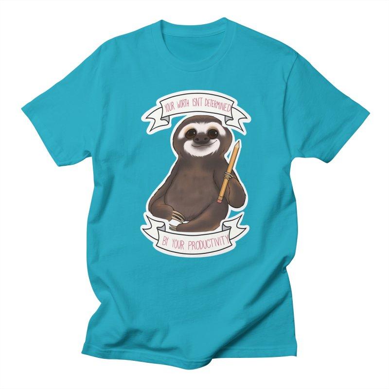 Sloth Women's Regular Unisex T-Shirt by AnimeGravy