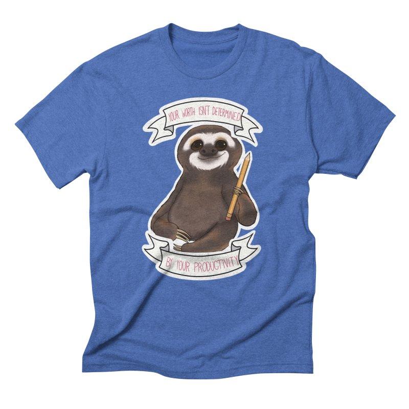 Sloth Men's T-Shirt by AnimeGravy