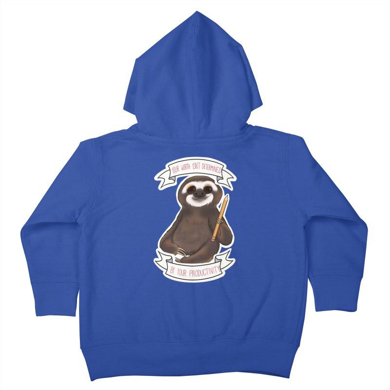 Sloth Kids Toddler Zip-Up Hoody by AnimeGravy