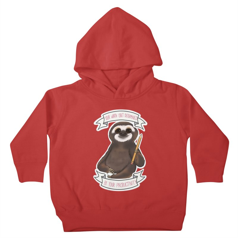 Sloth Kids Toddler Pullover Hoody by AnimeGravy