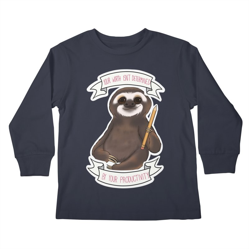Sloth Kids Longsleeve T-Shirt by AnimeGravy