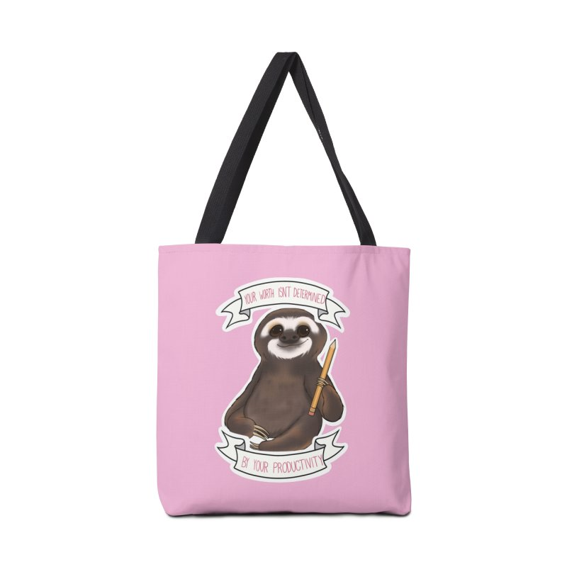 Sloth Accessories Tote Bag Bag by AnimeGravy