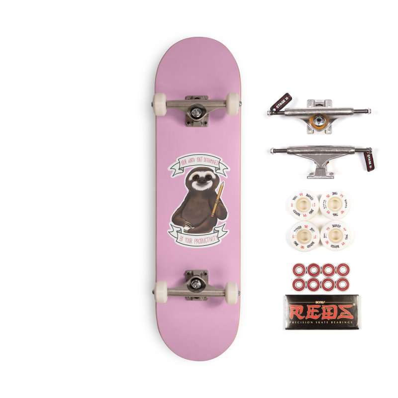 Sloth Accessories Complete - Pro Skateboard by AnimeGravy