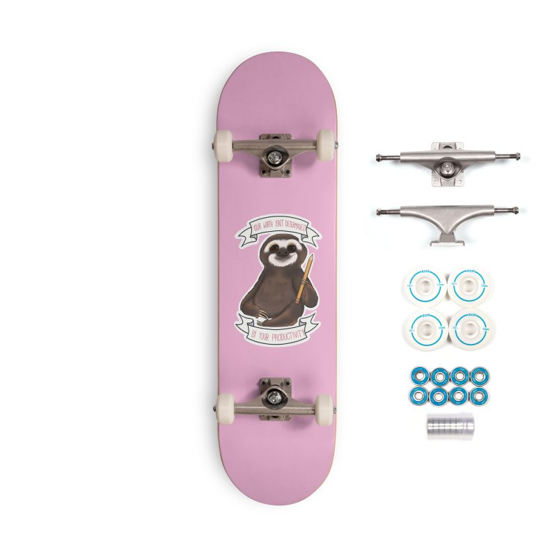 Sloth Accessories Complete - Basic Skateboard by AnimeGravy