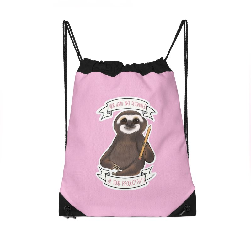 Sloth Accessories Bag by AnimeGravy