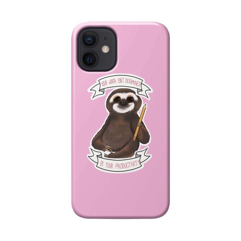 Sloth Accessories Phone Case by AnimeGravy