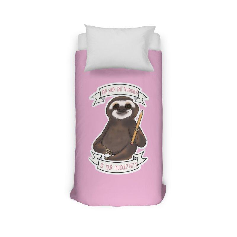 Sloth Home Duvet by AnimeGravy