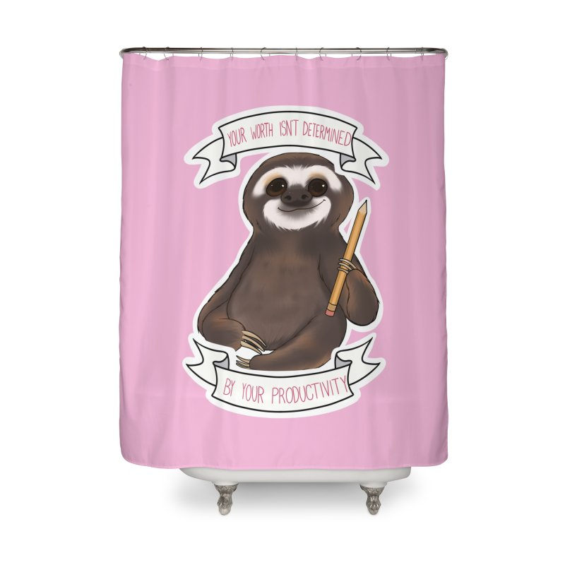 Sloth Home Shower Curtain by AnimeGravy