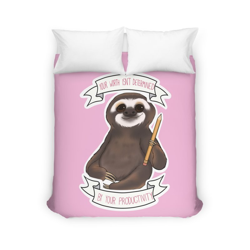 Sloth Home Duvet by AnimeGravy
