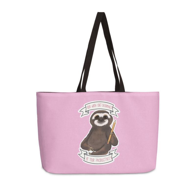 Sloth Accessories Weekender Bag Bag by AnimeGravy