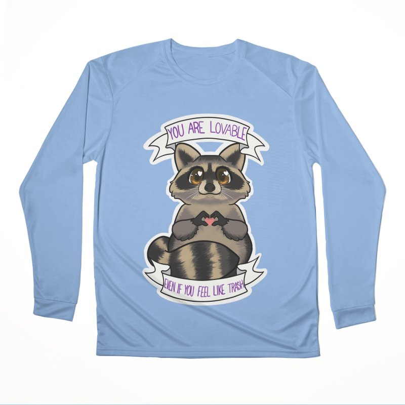 Raccoon Men's Performance Longsleeve T-Shirt by AnimeGravy