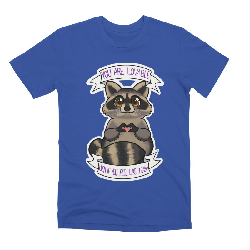 Raccoon Men's Premium T-Shirt by AnimeGravy