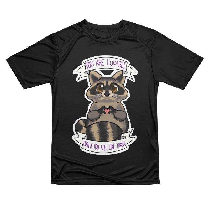 Raccoon Women's Performance Unisex T-Shirt by AnimeGravy