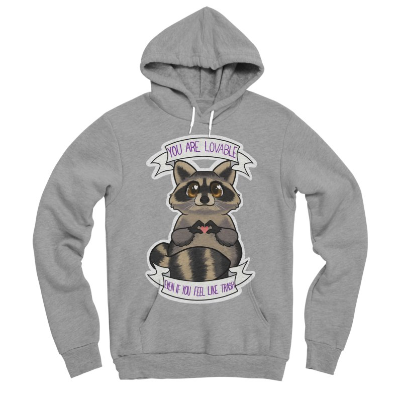 Raccoon Women's Sponge Fleece Pullover Hoody by AnimeGravy