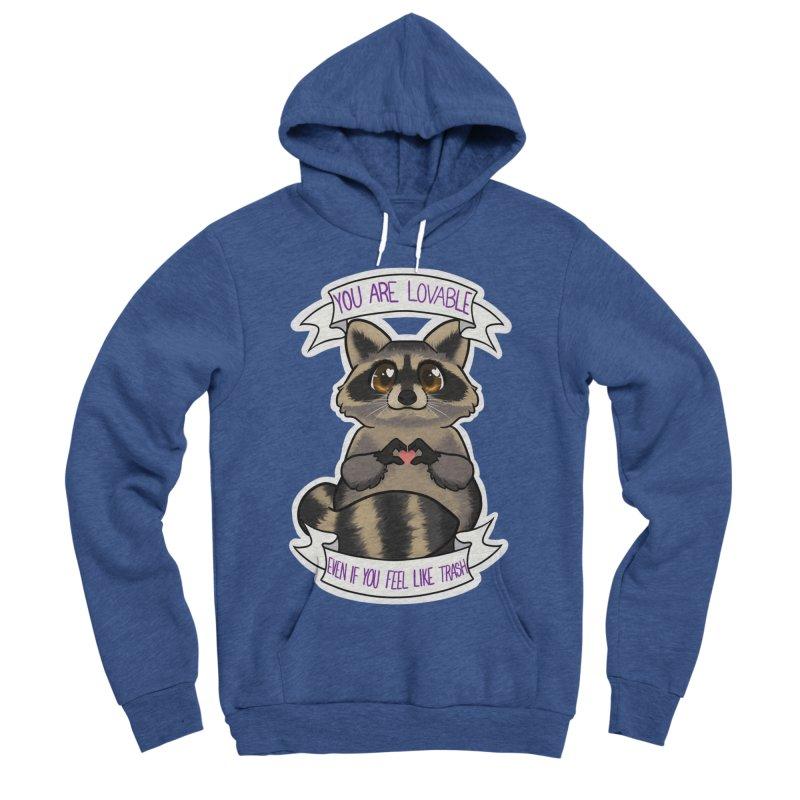 Raccoon Women's Sponge Fleece Pullover Hoody by AnimeGravy