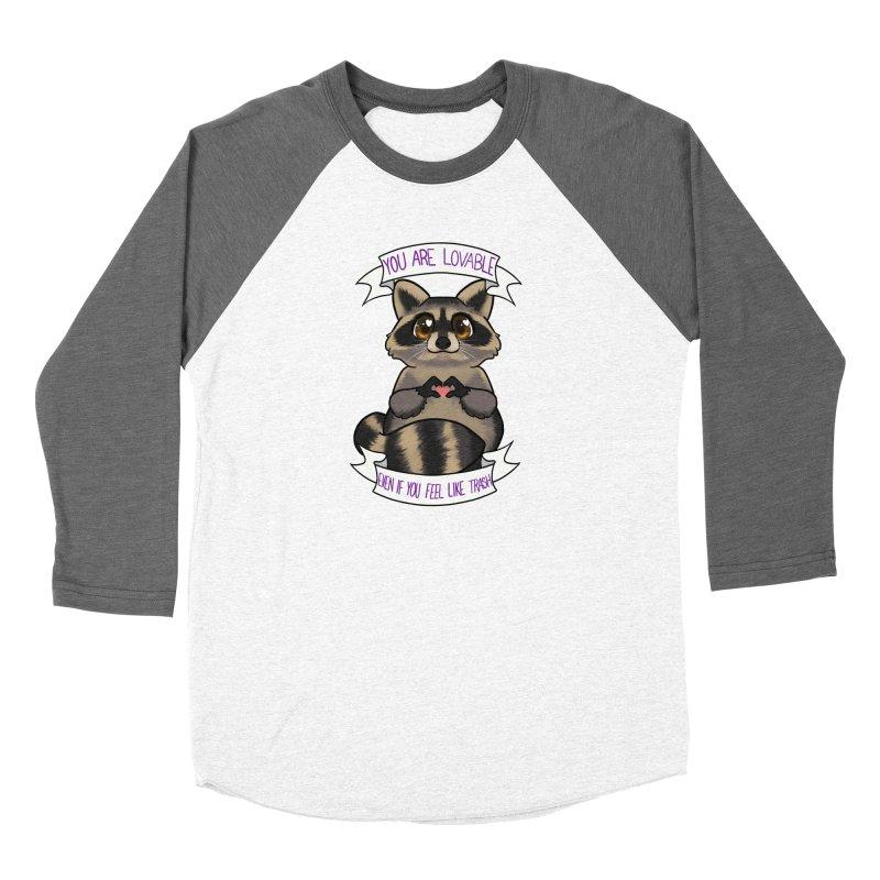 Raccoon Women's Longsleeve T-Shirt by AnimeGravy