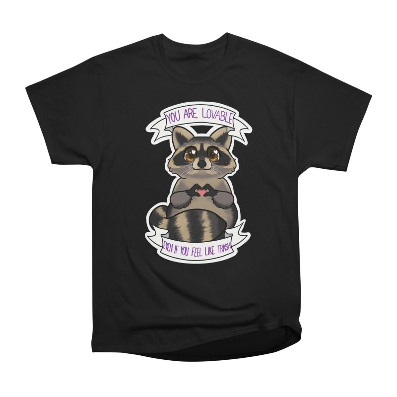 Raccoon Women's Heavyweight Unisex T-Shirt by AnimeGravy