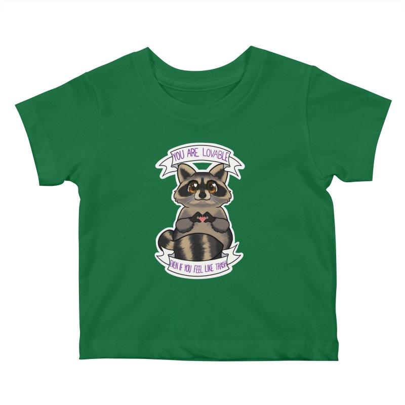 Raccoon Kids Baby T-Shirt by AnimeGravy
