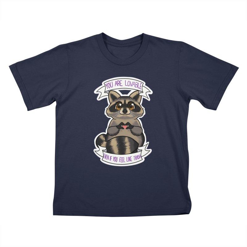 Raccoon Kids T-Shirt by AnimeGravy