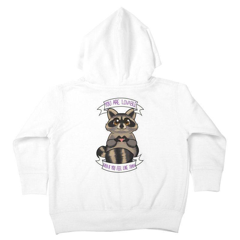 Raccoon Kids Toddler Zip-Up Hoody by AnimeGravy