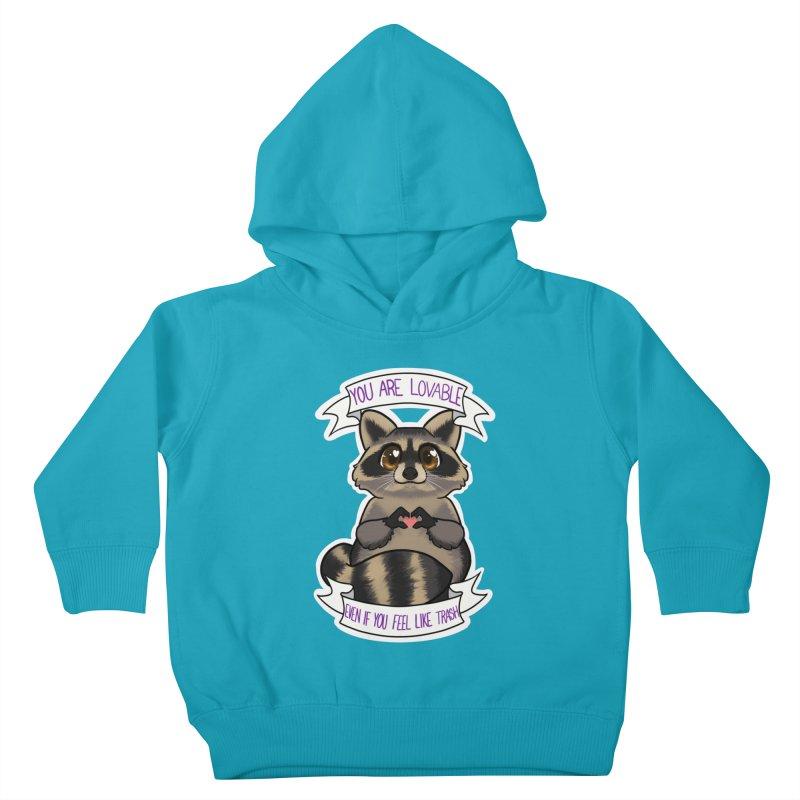 Raccoon Kids Toddler Pullover Hoody by AnimeGravy