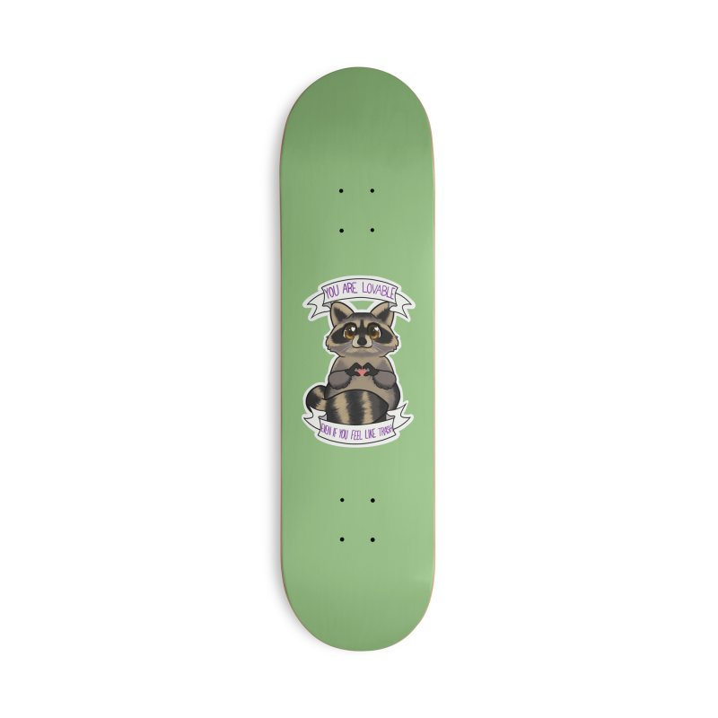 Raccoon Accessories Deck Only Skateboard by AnimeGravy
