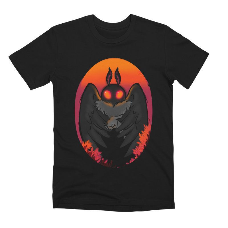 Mothman Men's Premium T-Shirt by AnimeGravy