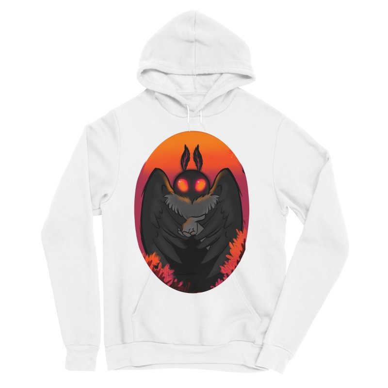 Mothman Women's Sponge Fleece Pullover Hoody by AnimeGravy
