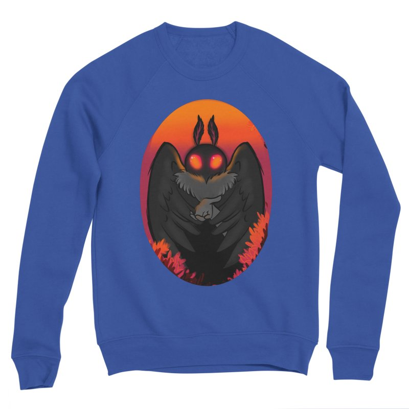 Mothman Men's Sweatshirt by AnimeGravy