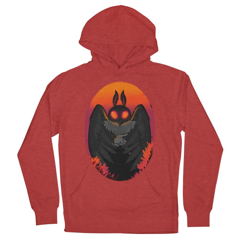 Mothman Women's French Terry Pullover Hoody by AnimeGravy
