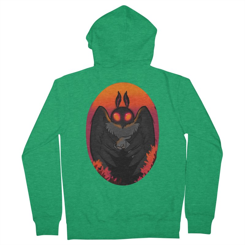 Mothman Men's Zip-Up Hoody by AnimeGravy