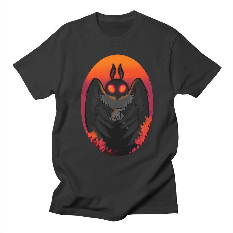 Mothman Men's Regular T-Shirt by AnimeGravy