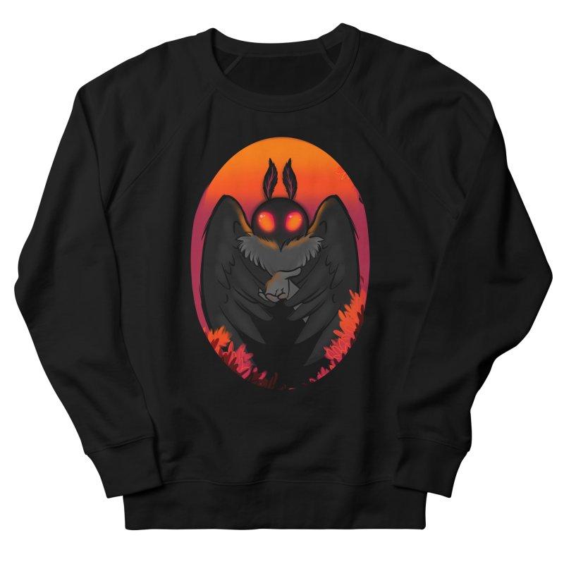 Mothman Men's French Terry Sweatshirt by AnimeGravy