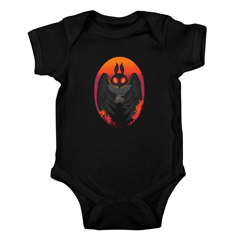 Mothman Kids Baby Bodysuit by AnimeGravy