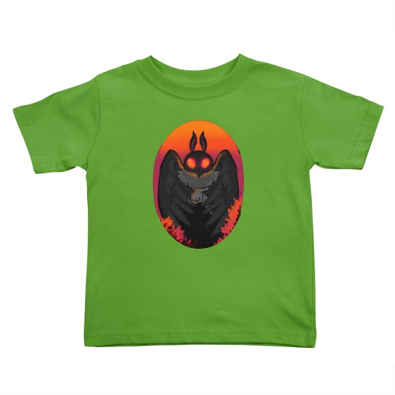 Mothman Kids Toddler T-Shirt by AnimeGravy