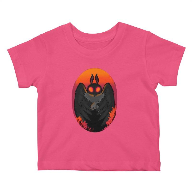 Mothman Kids Baby T-Shirt by AnimeGravy