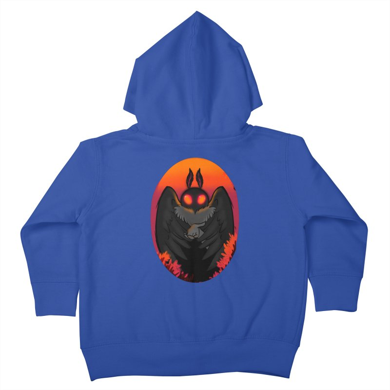 Mothman Kids Toddler Zip-Up Hoody by AnimeGravy
