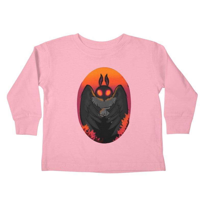 Mothman Kids Toddler Longsleeve T-Shirt by AnimeGravy