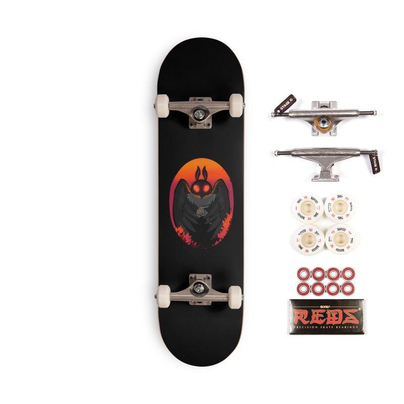 Mothman Accessories Complete - Pro Skateboard by AnimeGravy